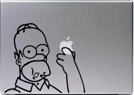 sticker o decal para mac y pc  cartoon