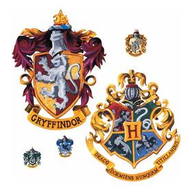 Sticker Pegatina Escudos De Hogwarts Harry Potter Decoración