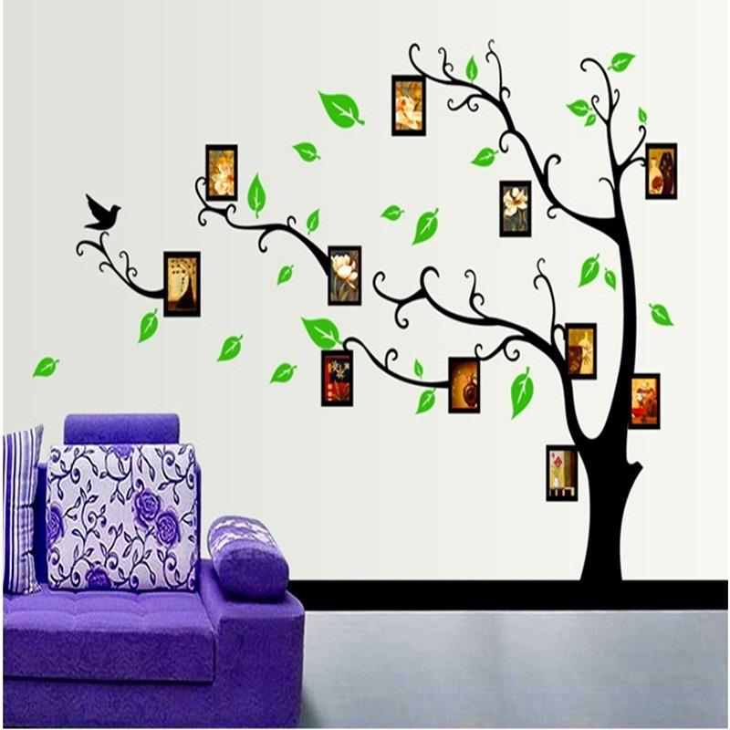 Sticker vinil decorativo de pared para el hogar marcos for Stickers decorativos de pared
