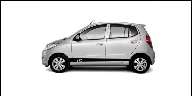 sticker vinil tuning lateral decals hyundai i10. Black Bedroom Furniture Sets. Home Design Ideas