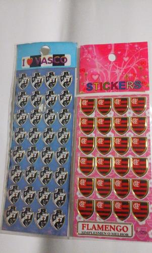 stickers adesivos times - corinthians, palmeiras e outros