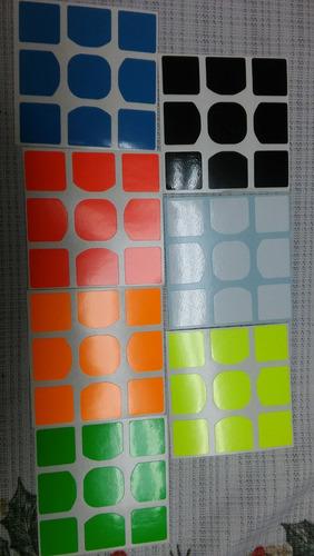 stickers adhesivos para cubo rubik moyu gans shengshou , etc