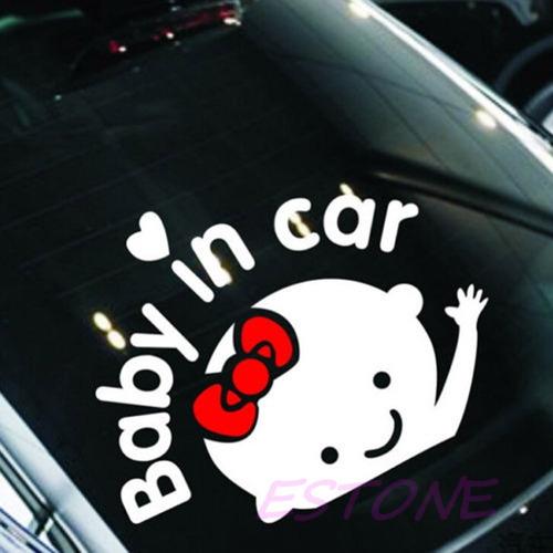 stickers baby in car bebe a bordo regalos navidad mde
