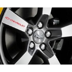 Stickers Calcomania Para Rines De Auto Chevrolet Audi Vw Seat Bmw Ford Honda Volkswagen Mazda Toyota Y Mas... 4 Piezas