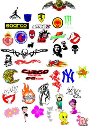 Stickers calcomanias decorativos en vinil adhesivo - Stickers decorativos ...