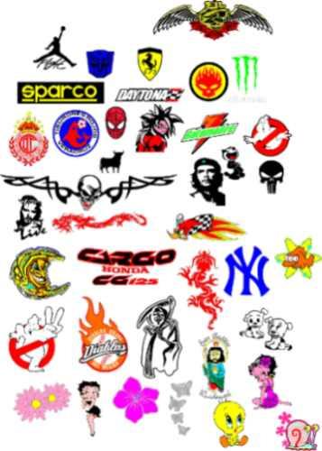 Stickers calcomanias decorativos en vinil adhesivo for Calcomanias para pared
