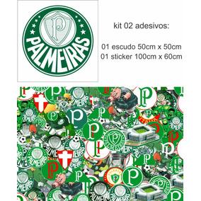 b27332072ce21 ... Escudo Mania por Marquinho motos · Adesivo Sticker Kit 02 Adesivos  Palmeiras Corinthians Sp Fla