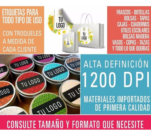 stickers circulares transparentes pvc calcos troquelados especiales formas resistentes agua diseños vinilos etiquetas