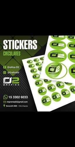 stickers con forma