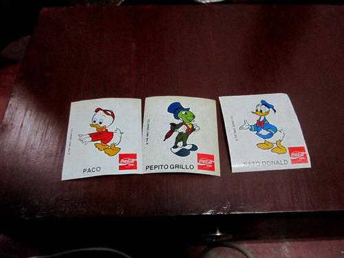 stickers con  .personajes de walt disney