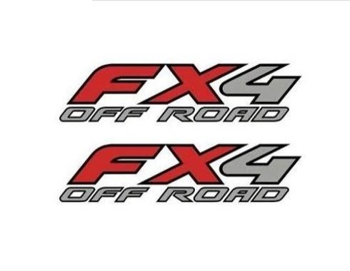 stickers fx4 ford etiqueta calcomania costado de batea par