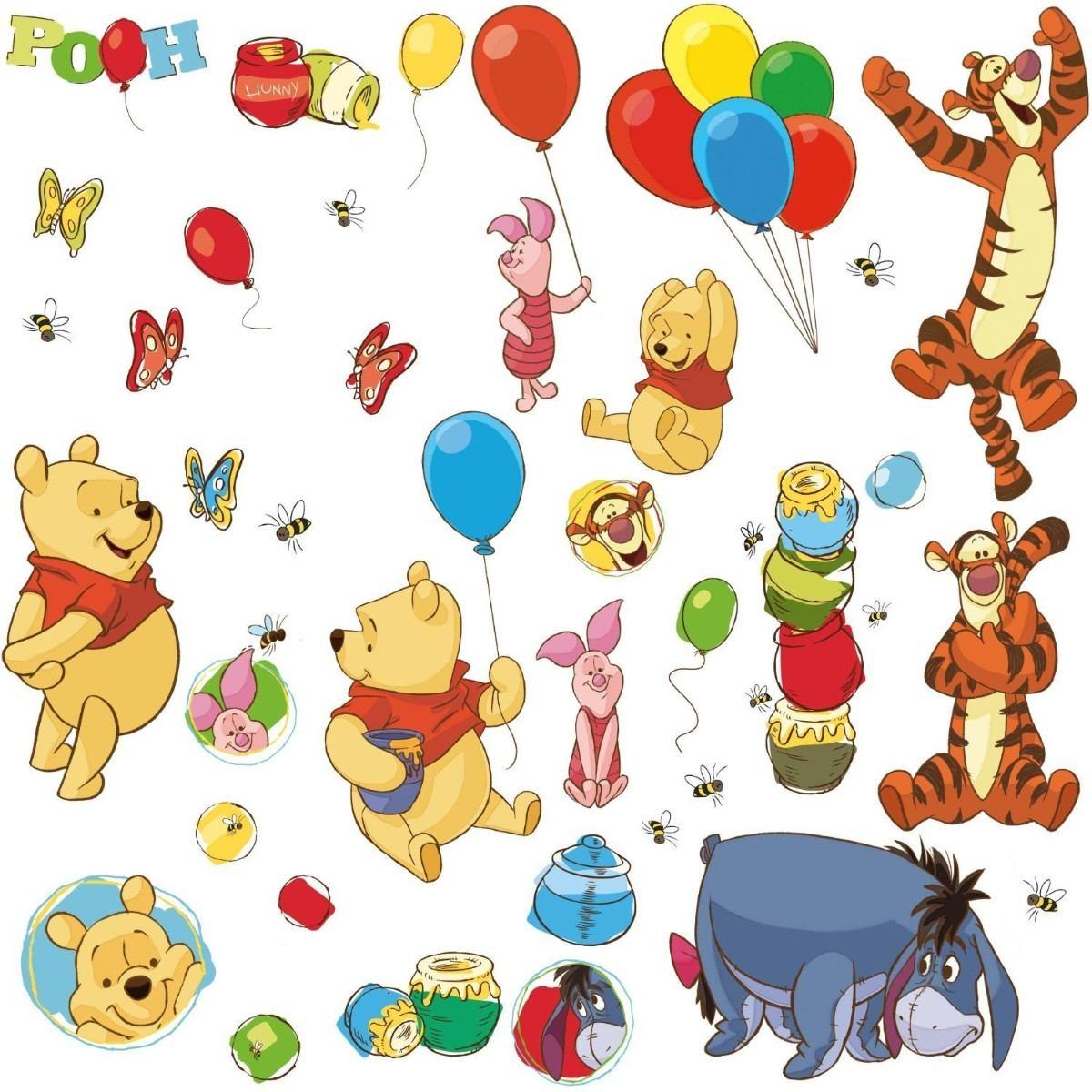 Stickers habitacion winnie pooh y sus amigos en - Habitacion winnie the pooh ...