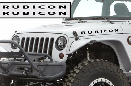stickers jeep rubicon camionetas mde