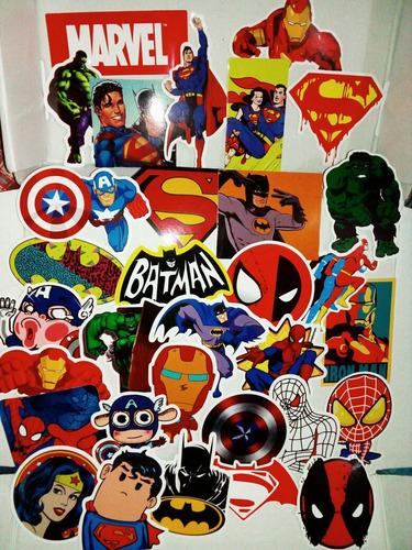 stickers marvel  súper héroes.