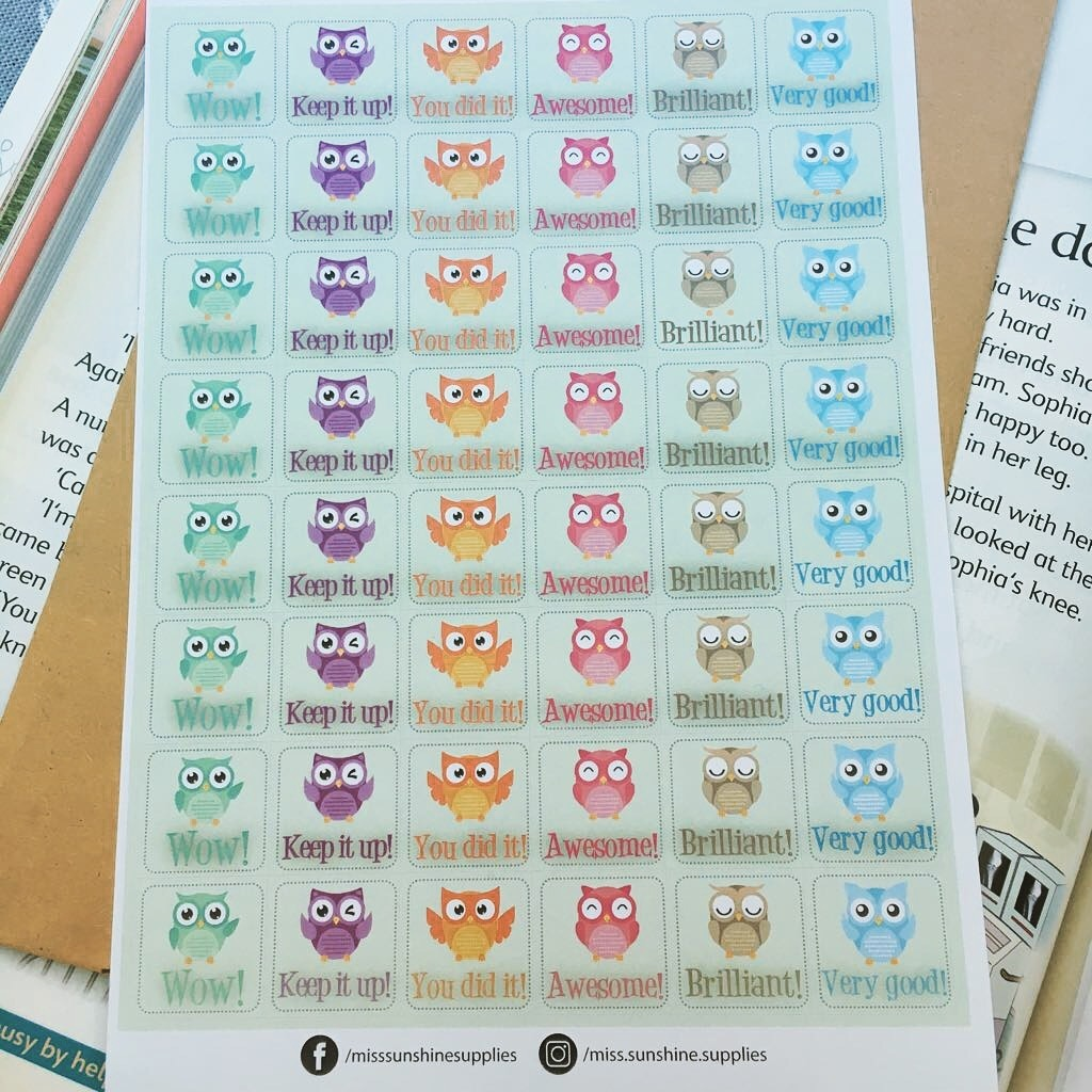 Stickers Motivacionales En Inglés