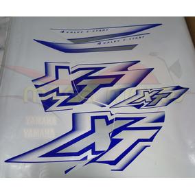 xt 600 azul caneta