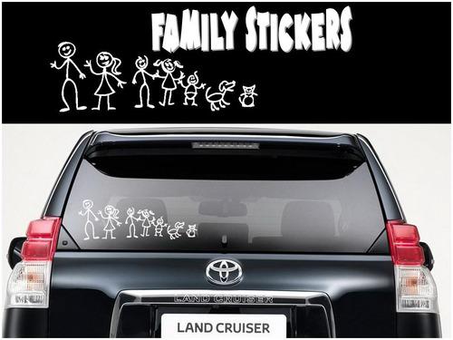 stickers para armar tu familia autoadhesiva