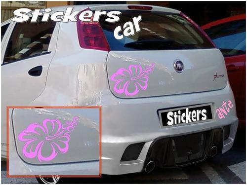 stickers personalizado  para tu auto