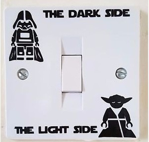 stickers personalizados toma corriente