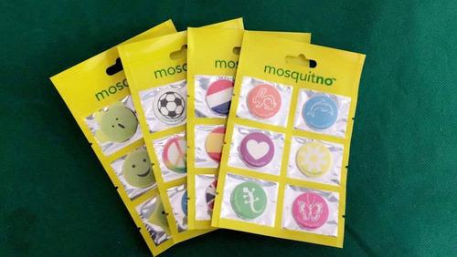 stickers repelentes de mosquitos