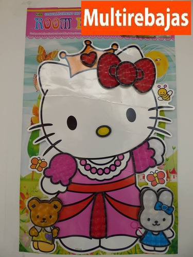 stickers tridimencional kitty