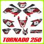 Calcas Honda Tornado 250, Tuning, Fox Stickers, Adhesivos