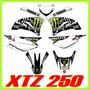Adhesivos Xtz 250 Yamaha, Monster, Tuning Motos Fox Stickers