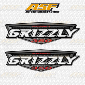 Stickers Vinil Calcomanias Yamaha Grizzly 350