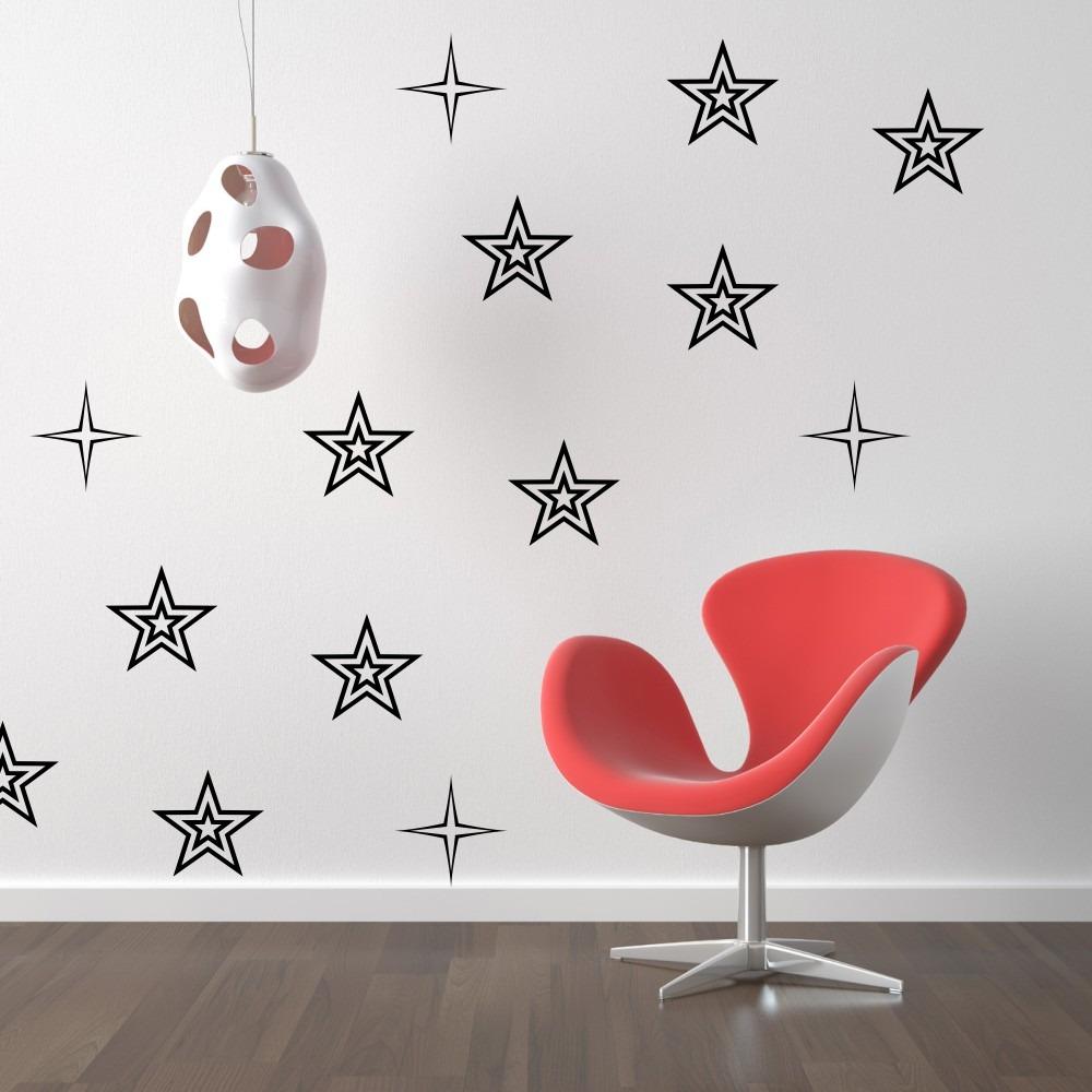 stickers vinilos decorativos flores estrellas paredes full ForStickers Vinilos Decorativos