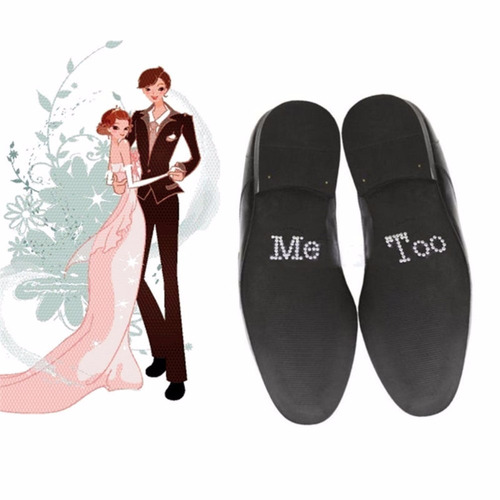 stickers zapatos boda set i do + me too (varios colores)