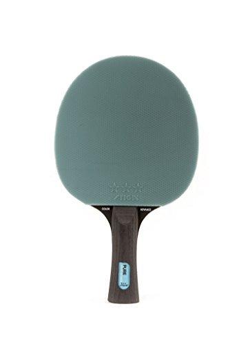 stiga pure color advance - raqueta de tenis de mesa, azul,