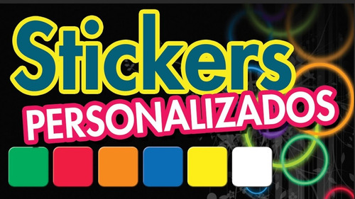 stikers personalizados para tu fiesta