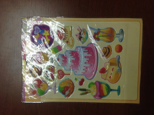 stikerts tortas decorativos