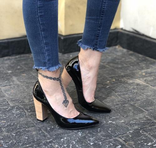 stiletto luis xv linea folia mujer de calzadosoher