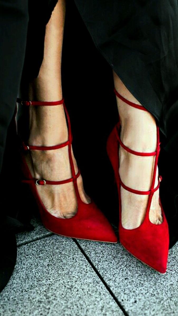 e0367214 Stilettos Rojos - $ 2.300,00 en Mercado Libre