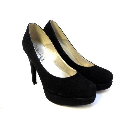 f7b887f2 Stilettos Zapatos Gamuzados Taco 13cm Plataforma Zizi Rimini - $ 699 ...