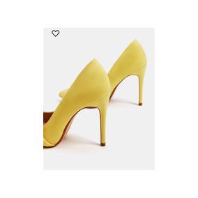 Argentina Stiletto En Mercado Libre Stilletos Zara Amarillo De Mujer SqUzMVp
