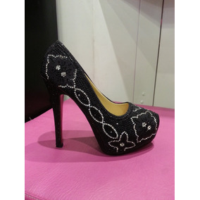 dfa5eadba71f5 Tacos Aguja De Mujer Altos Talle 41 - Zapatos 41 Negro en Mercado ...