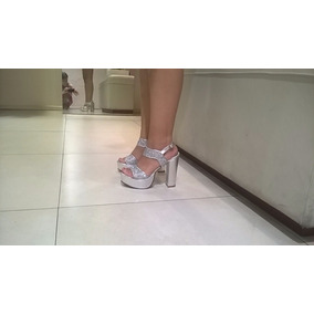 7b6de35b40e Zapatos Para 15 Años Plateados - Zapatos de Mujer, Usado en Mercado ...