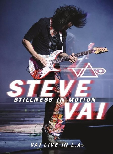 stillness in motion steve vai 2 dvd