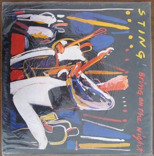 sting - bring on the night - disco doble - vinilo nacional