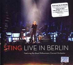 sting live in berlin royal philharmonic novo cd + dvd set