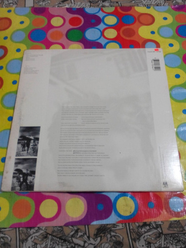 sting lp the dream of the blue turtles 1985. importado usa.