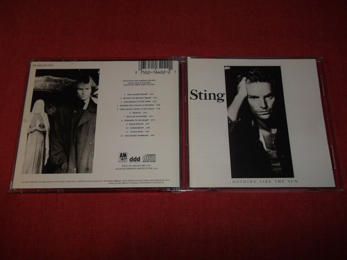 sting - nothing like the sun cd imp ed 1990 mdisk