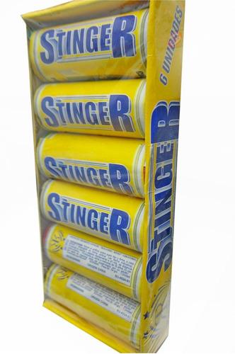 stinger caja x6 -apto renar- promo pirotecnia la golosineria