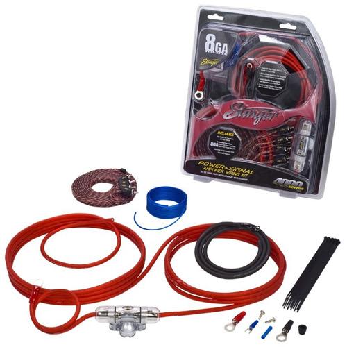 stinger kit de instalación sk4681 calibre 8 600 watts 60 amp