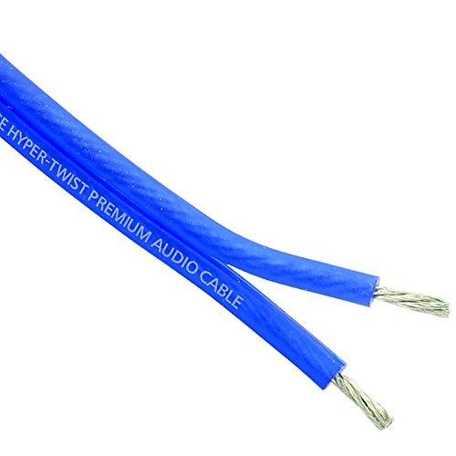 stinger shw512b 100 ft. de alambre de altavoz azul calibre 1