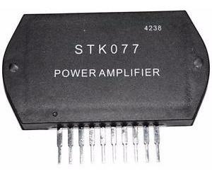 stk077 amplificador de audio nuevo