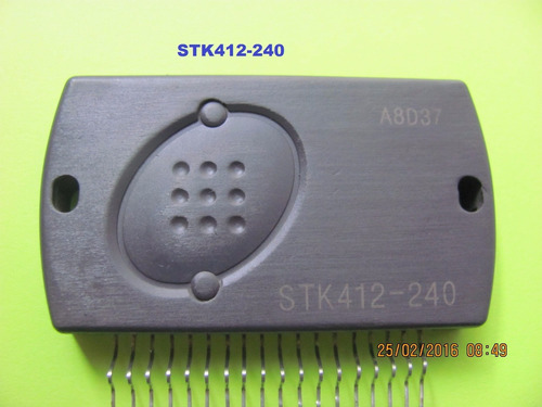 stk412-240 circuito integrado sanyo audio amplificador