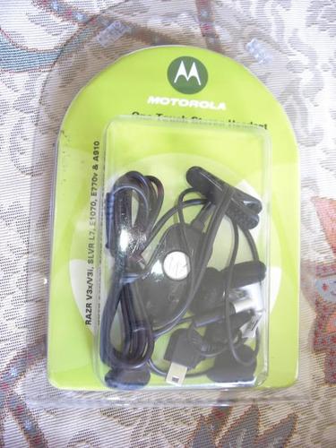 stock audifonos handsfree motorola s200 v3x v3i v3 l6 l7